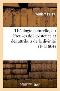 9782012832534, théologie naturelle, william paley
