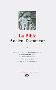 9782070100071, bible, pléiade, ancien testament