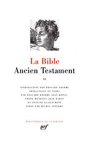9782070100088, bible, pléiade, ancien testament