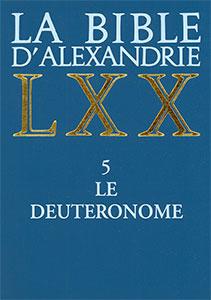 septante, alexandrie, bible, cerf, deuteronome, 9782204045629