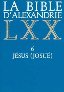 9782204054294, bible d'alexandrie, lxx, josué