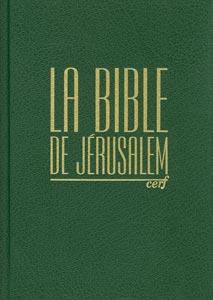 bibles, formats, deuterocanoniques, jerusalem, 9782204060325