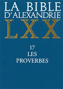 9782204064866, bible d'alexandrie, lxx, proverbes