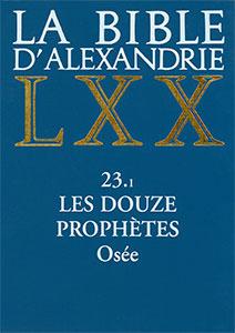 9782204069014, bible d'alexandrie, lxx, osée