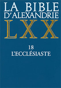 9782204069038, bible d'alexandrie, lxx, l'ecclésiaste