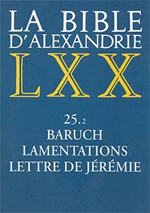 9782204077309, bible d'alexandrie, lxx, lamentations, jérémie