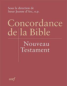 9782204082327, concordance, de, la, bible, nouveau, testament, nt, soeur, jeanne, d'arc, éditions, du, cerf