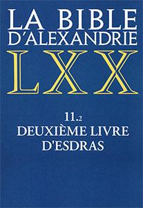 9782204091916, bible d'alexandrie, lxx, esdras