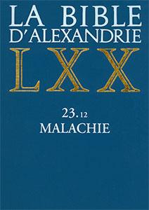 9782204094788, bible d'alexandrie, lxx, malachie