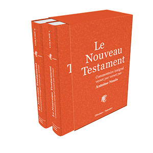 9782354794576, nouveau testament, commentaire, antoine nouis