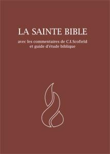 9782608153364, neg, la, sainte, bible, avec, les, commentaires, de, c, i, scofield, et, guide, d'étude, biblique, french, bible, scofield, study, notes