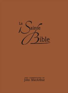 9782608174451, bible d'étude, neg, john macarthur