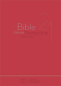9782608183989, bible d'étude, thompson, segond 21
