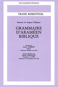 9782701011783, grammaire, araméen, franz rosenthal