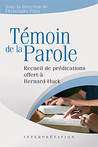 9782755002430, prédications, bernard huck