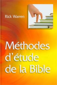 9782826035237, méthodes, d'étude, de, la, bible, relié, rick, warren's, study, methods, éditions, la, maison, de, la, bible, mb, étudier