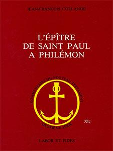 9782830900880, philémon, commentaire, jean-françois collange