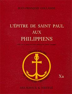 9782830901979, philippiens, commentaire, jean-françois collange