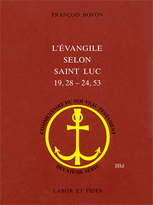 9782830912616, luc, commentaire, françois bovon