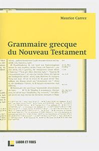 9782830913774, grammaire grecque, maurice carrez