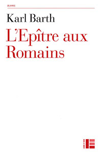 9782830915921, romains, commentaire, karl barth