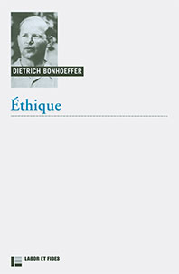 9782830916829, éthique, dietrich bonhoeffer