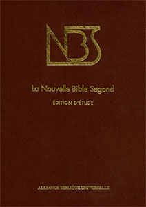 NBS, étude, notes, cartes, introductions, 9782853001694, biblio, sbf, abf