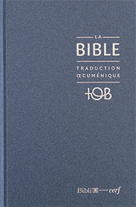 9782853003162, la bible, version tob