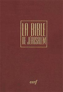 9782853004411, bible de jérusalem, cerf