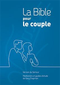 9782863144855, la bible pour le couple, version du semeur 2015, méditations et guides d'étude de gary chapman, couverture rigide bleue, éditions farel, excelsis, xl6