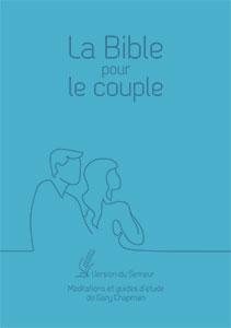 9782863144879, la bible pour le couple, version du semeur 2015, méditations et guides d'étude de gary chapman, couverture souple bleue, éditions farel, excelsis, xl6