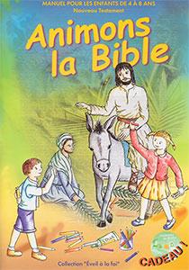 9782876570368, animons, bible, 21, enfants, trois, six, neuf, ans, chants