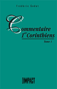 9782890820449, 1 corinthiens, frédéric godet