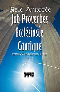 9782890820555, proverbes, ecclésiaste, frédéric godet