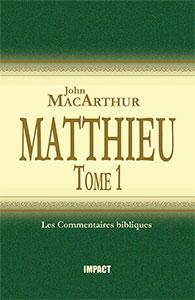 9782890820951, matthieu, commentaire, macarthur