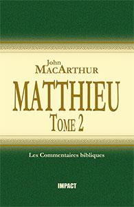 9782890821453, commentaire, matthieu, macarthur