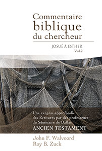 9782890822047, commentaire, josué, esther