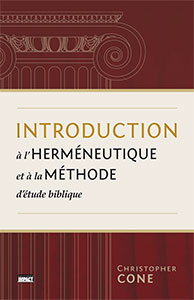 9782890822597, herméneutique, christopher cone