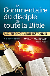 9782904361166, commentaire, disciple, william macdonald