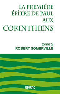 9782904407383, commentaire, corinthiens, robert somerville