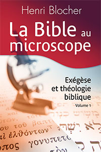 9782904407406, bible, exégèse, henri blocher