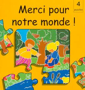 9782911260667, merci, pour, notre, monde, 4, quatre, puzzles, éditions, excelsis, xl6, jeux, enfants, enfance