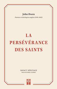 9782924773192, persévérance, saints, john owen