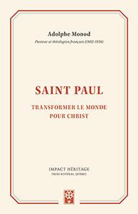 9782924773284, saint paul, adolphe monod