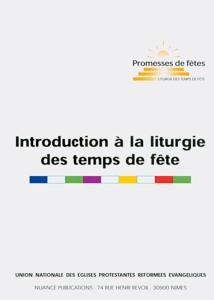 9782951947146, introduction, à, la, liturgie, des, temps, de, fêtes, éditions, nuances, publications