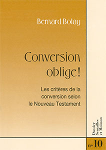 9782970025603, conversion, bernard, bolay