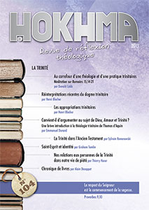 HOK104, hokhma, réflexion théologique