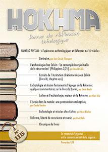 hokhma, réflexion théologique, 115