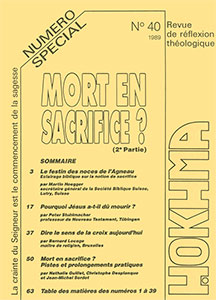 HOK40, hokhma, mort, sacrifice