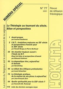 HOK77, hokhma, évolutions, dogmatique, spiritualité